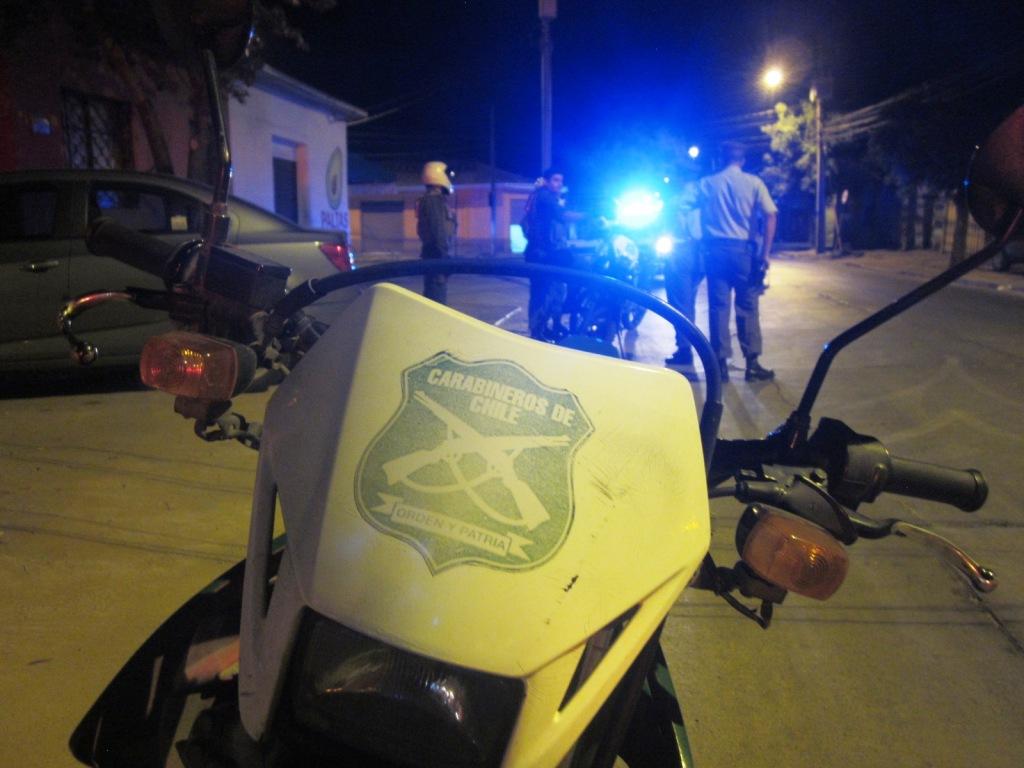 moto carabinero, carabineros, moto policial