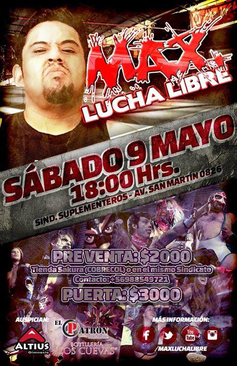 max lucha libre