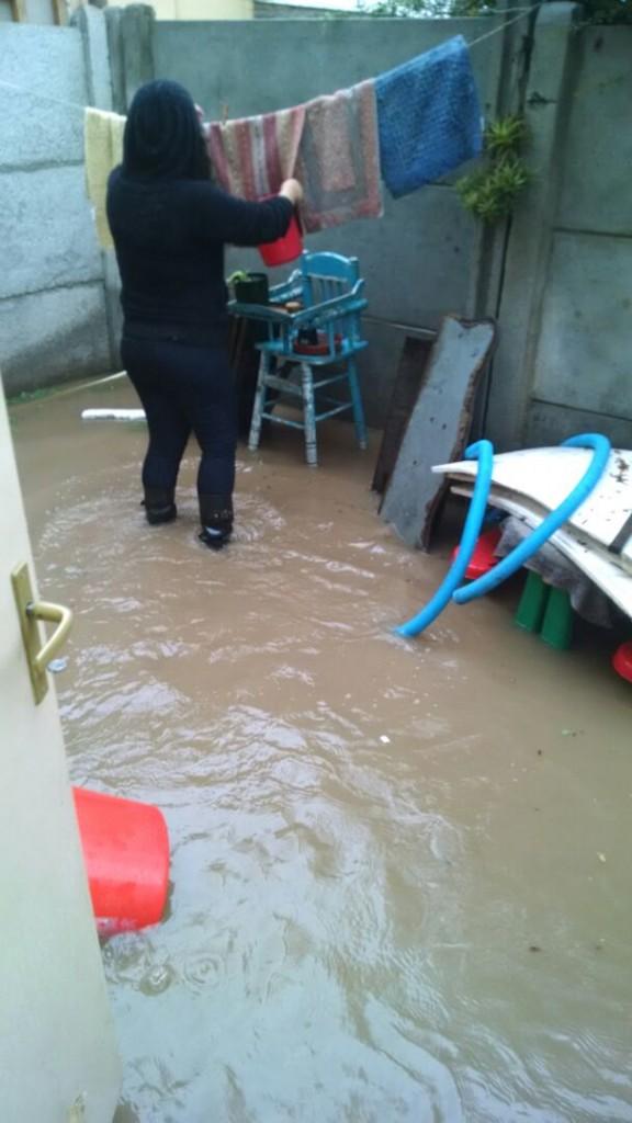 rancagua inundacion