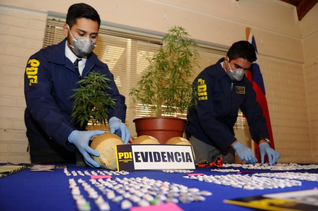 evidencia, policia, marihuana, droga